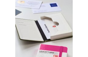 ΘΗΚΗ BUSINESS CARD LEUCHTTURM